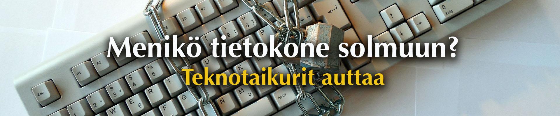 Tietokonehuolto Teknotaikurit - Tampere