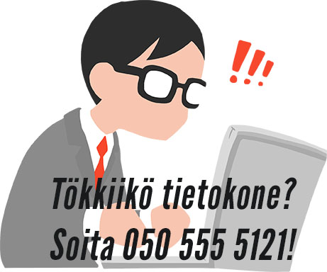 Edullinen tietokonehuolto Tampereen keskustassa